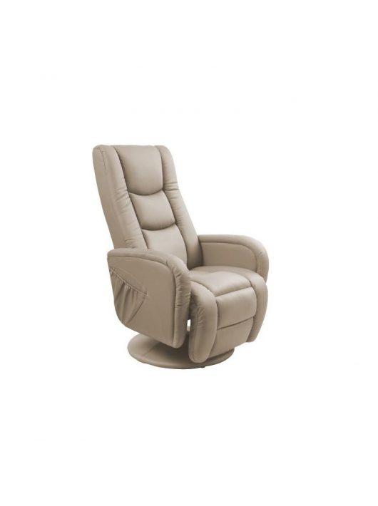 Pulsar Relax masszázs fotel capuccino színben - Halmar Bútor Webáruház