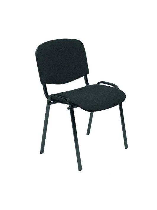 Iso irodai szék Sötét szürke - Fekete lábakkal