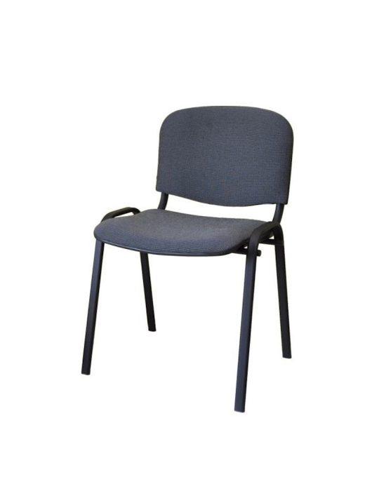 Iso irodai szék Szürke - Fekete lábakkal