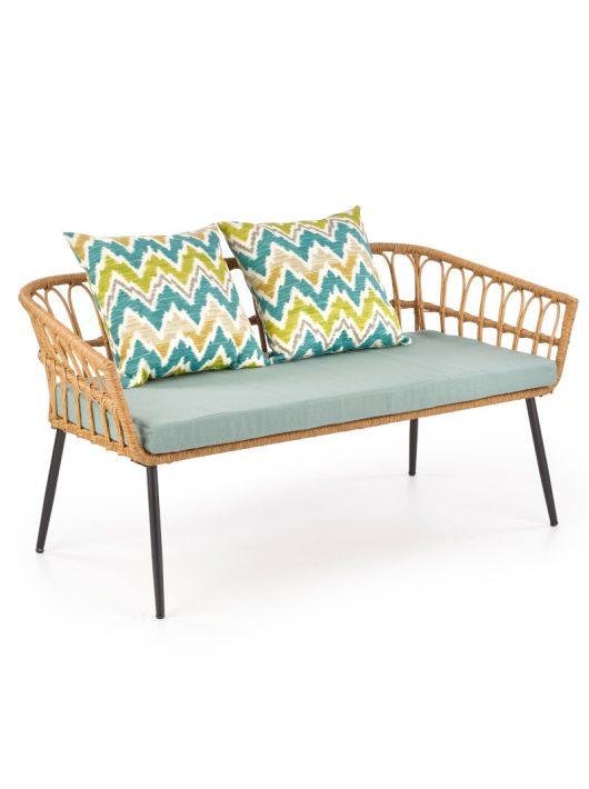 Gardena 2S kerti kanapé Natúr - Többszínű