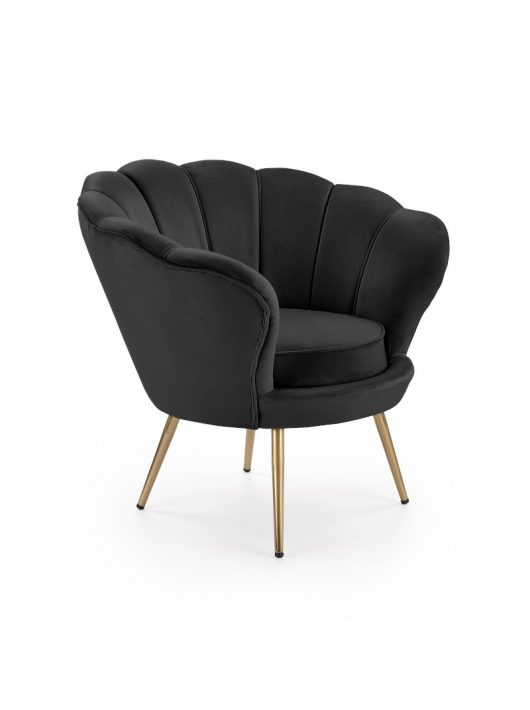 Amorino fotel fekete
