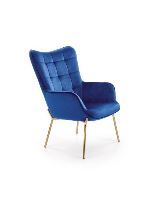 Castel 2 fotel sötét kék
