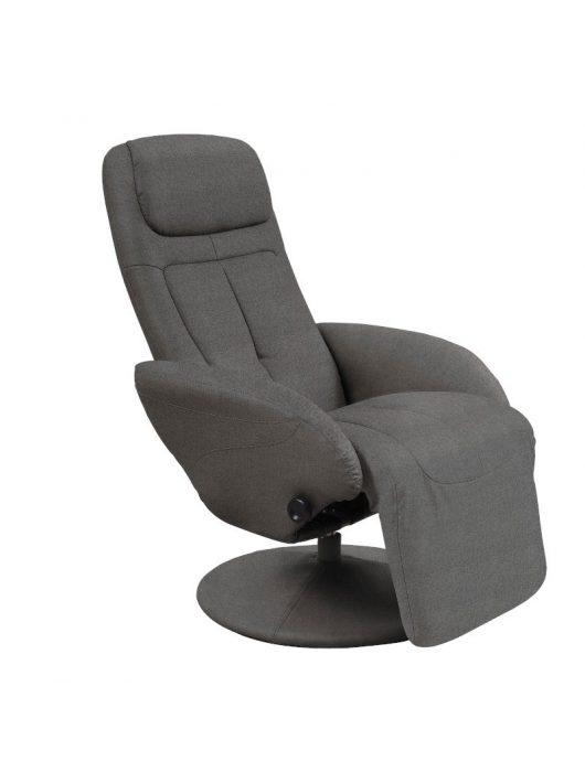 Optima 2 Relax szövet fotel szürke színben