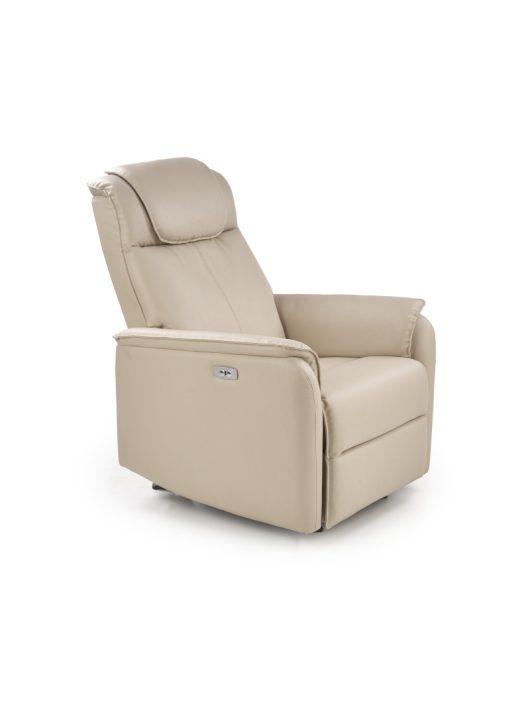 Paradise Relax fotel ECO műbőr Krém