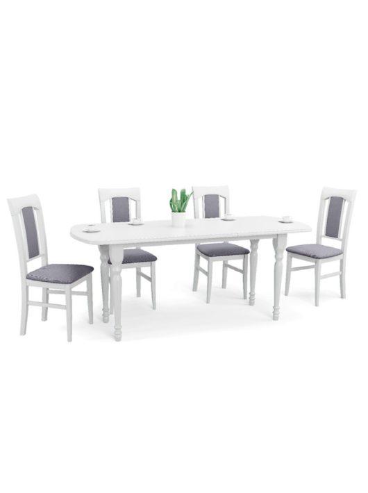 Arnold Bővíthető Étkezőasztal MDF Fehér 150-190x80cm