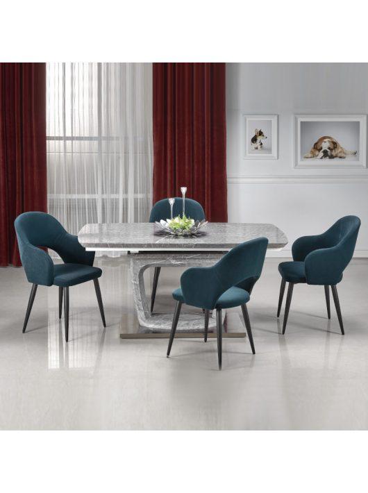 Artemon Bővíthető Étkezőasztal 160-220x90cm Szürke márvány