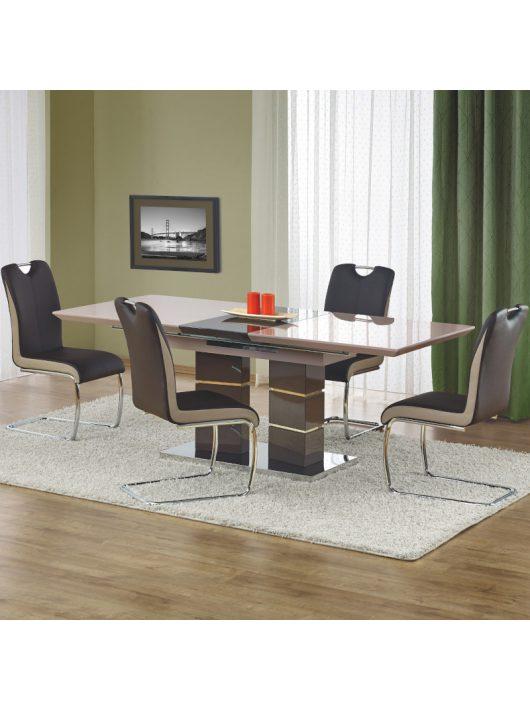 Lord Bővíthető Étkezőasztal Világos szürke - Sötét szürke 160-200cm