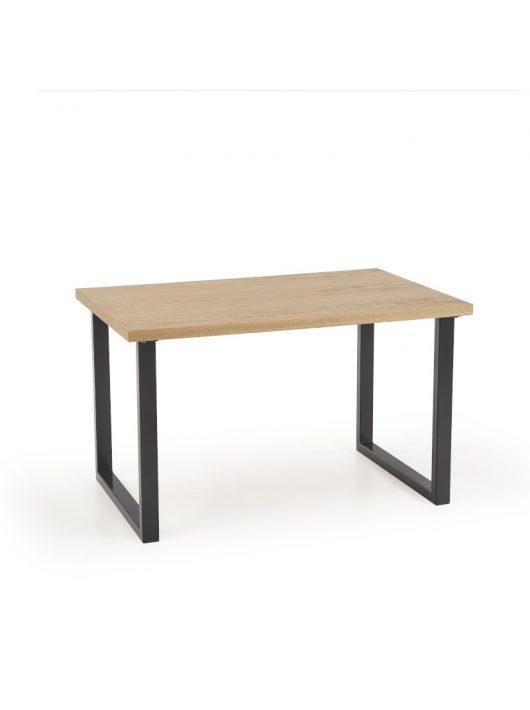 Radus Étkezőasztal 160cm Natúr tölgy furnér - Fekete