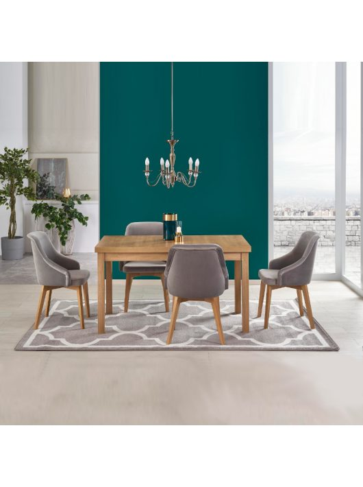 Tiago 2 Bővíthető Étkezőasztal 76x80x140-220cm Riviéra Tölgy
