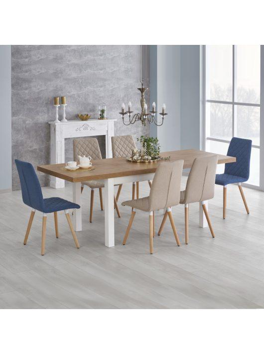 Tiago Összecsukható Asztal 140 cm Lancelot Tölgy - Fehér