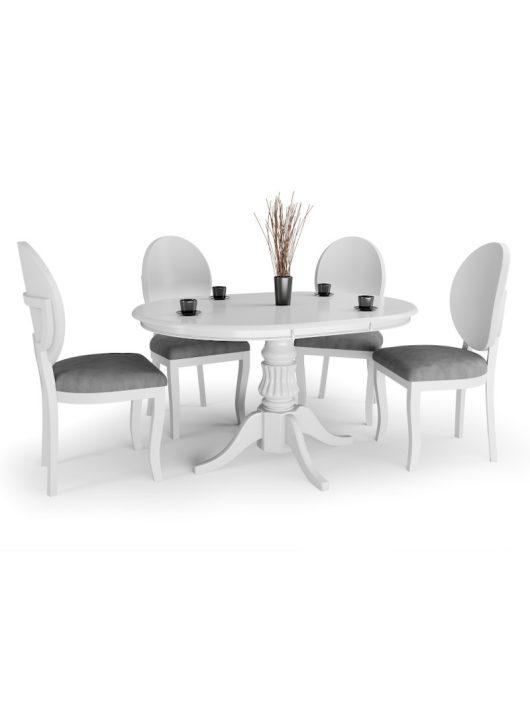 William Bővíthető Étkezőasztal 90-124cm Fehér