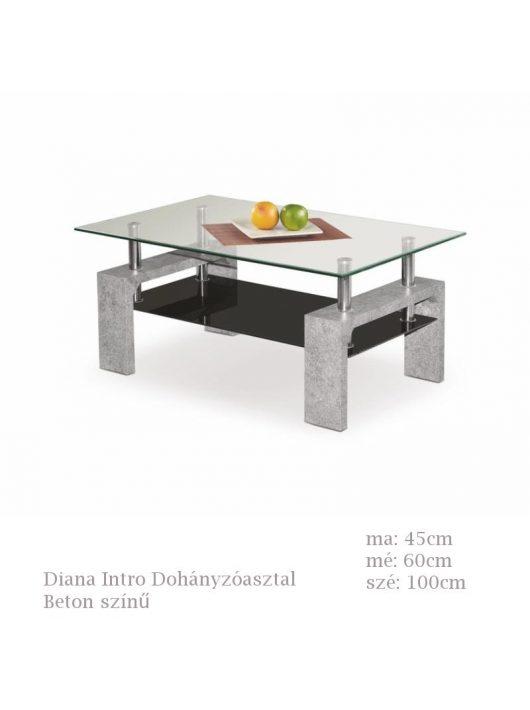 Diana Intro Dohányzóasztal Beton színű