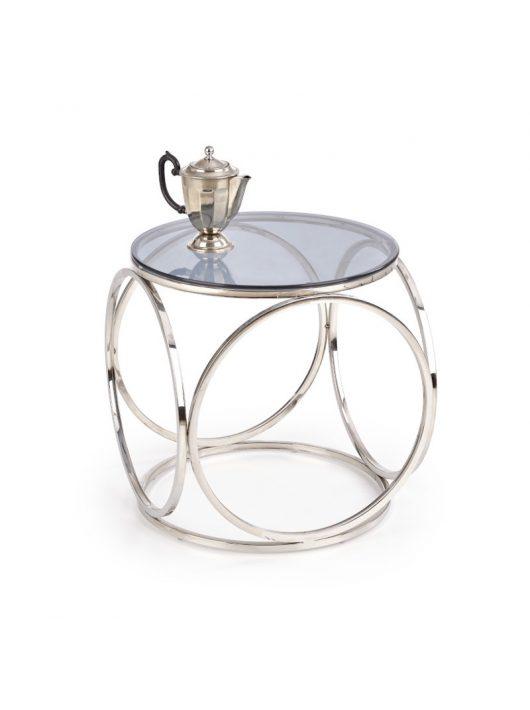 Venus S üveg dohányzóasztal Füstös