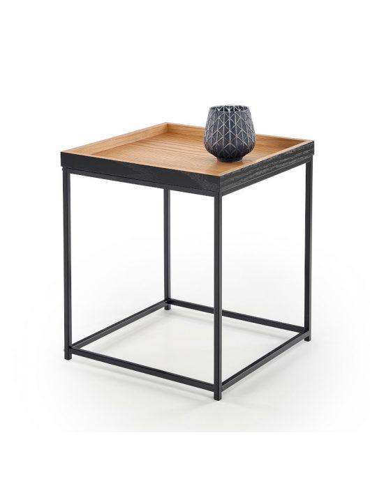 Yava dohányzóasztal Natúr Tölgy - Fekete