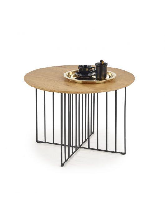 Zara dohányzóasztal Arany Tölgy - Fekete