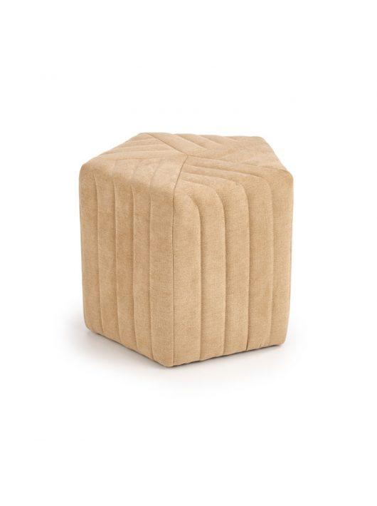 Hexa 2 puff Bézs szövet