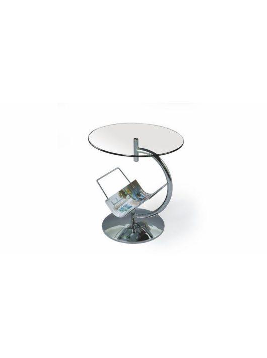 Alma Lerakóasztal Víztiszta - Üveg dohányzóasztalok webáruház