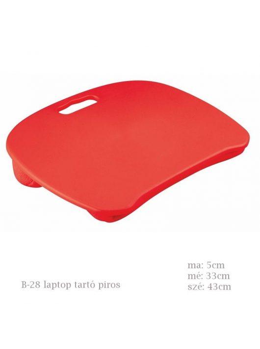B-28 laptop tartó piros