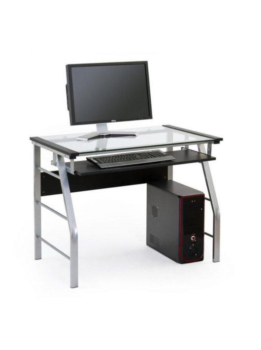 B18 Pc Asztal Fekete - Számítógépasztalok webáruház