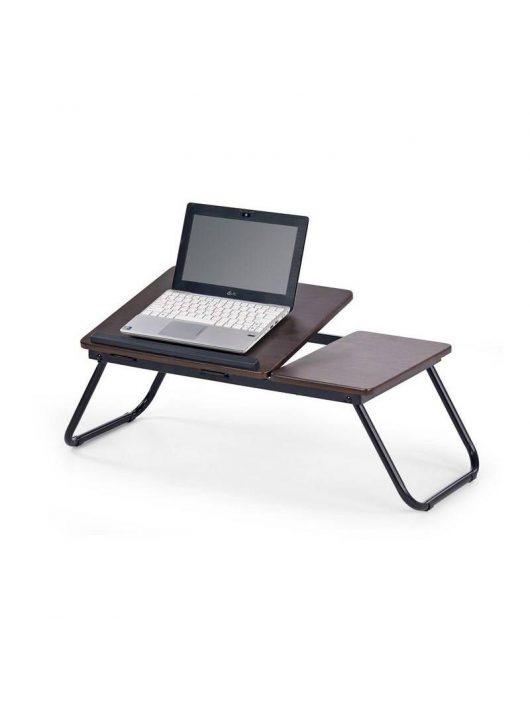 B19 LapTop asztal Sötét Dió - Számítógépasztalok webáruház