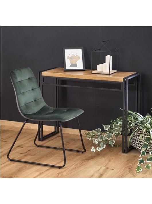 Bolivar KN-1 arany tölgy/fekete Asztal 90x35x76 cm - Lerakóasztalok webáruházak
