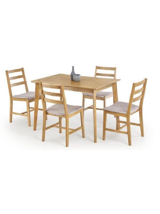 Cordoba Asztal 120 cm + 4 Szék Fa-Mokate