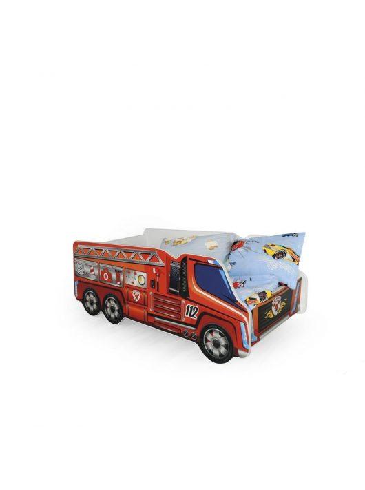 Fire Truck Tűzoltóautó Ágy