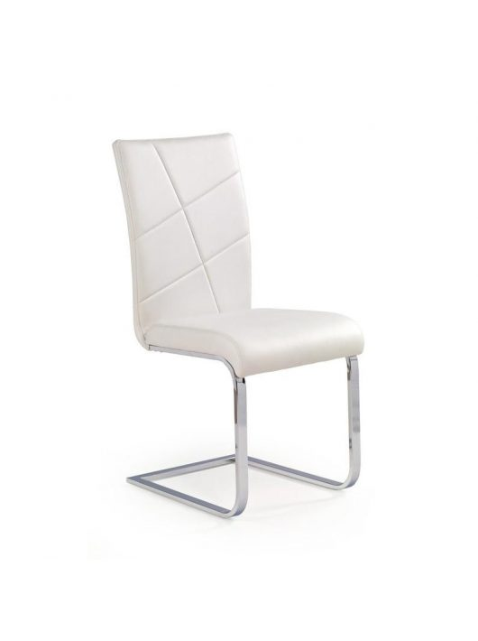 K108 Szánkótalpas szék Fehér