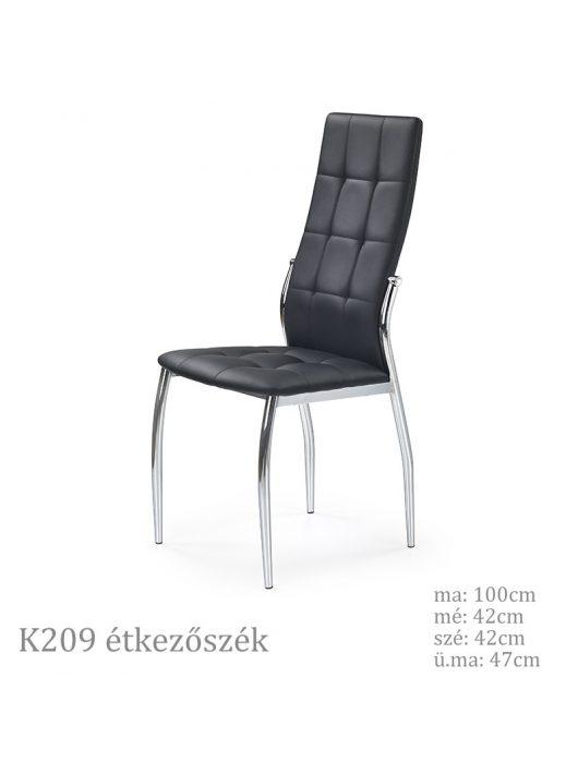 K209 étkezőszék