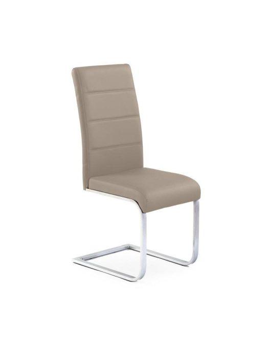 K85 Szánkótalpas szék Cappuccino - Fém étkezőszékek webáruház