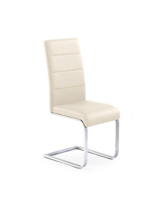 K85 Szánkótalpas szék Krém - Fém étkezőszékek webáruház