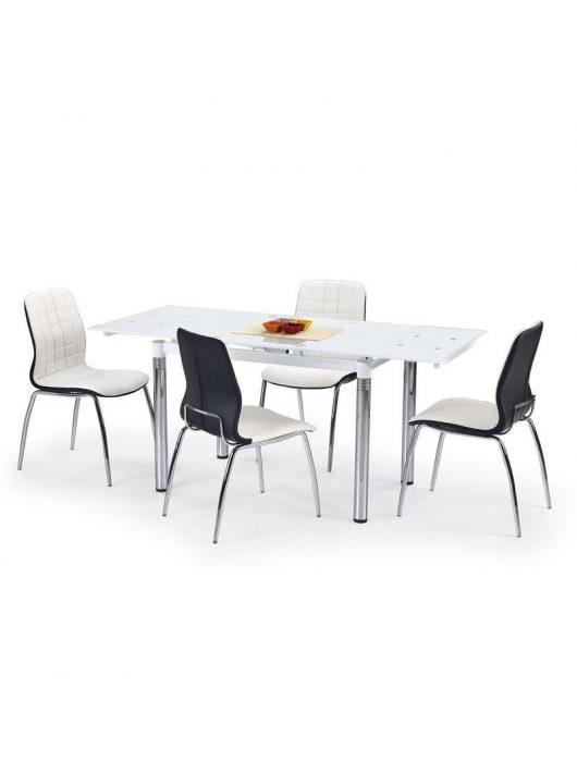 L31 Bővíthető Étkezőasztal Fehér - Üveg étkezőasztalok webáruház