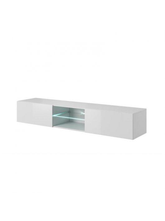 Livo RTV 180W fehér tv asztal - TV állványok webáruházak