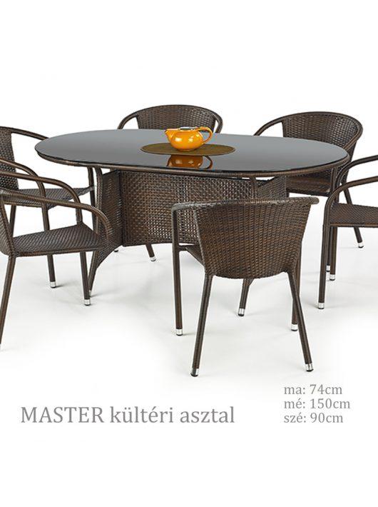 MASTER kültéri asztal