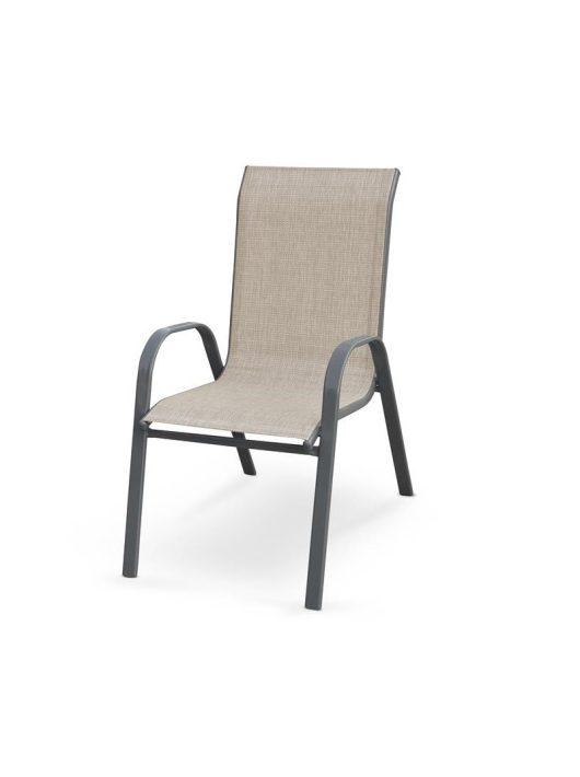 Mosler szürke kültéri szék - Kert és terasz bútorok