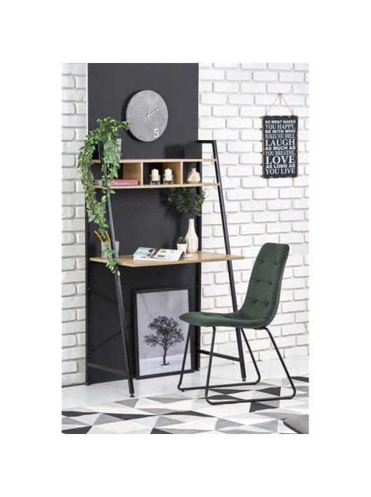 Narvik B2 íróasztal fekete sonoma tölgy
