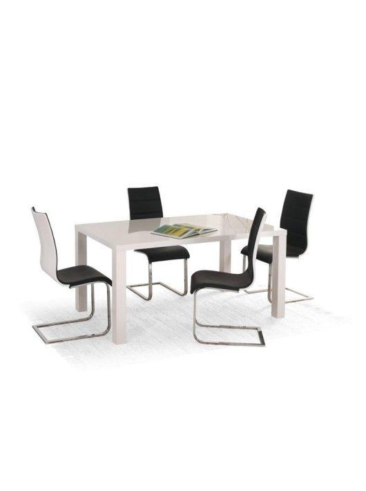 Cikkszám: 201209341164 Lakkozott MDF-ből készült bővíthető étkezőasztal