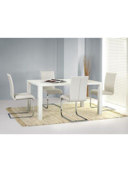 Ronald Étkezőasztal Fehér 120x80cm - Fa étkezőasztalok webáruház