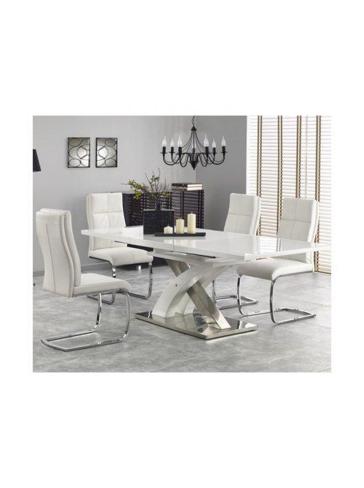 Sandor 2 Bővíthető Étkezőasztal 160-200x90x76cm extra fehér