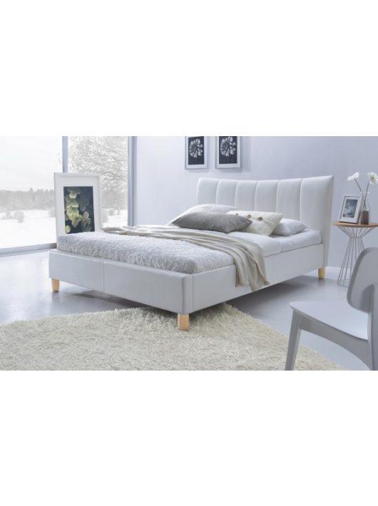 Sandy ágy fehér színben