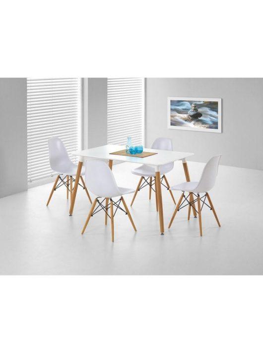 Socrates Étkezősztal Fehér - Fa étkezőasztalok webáruház