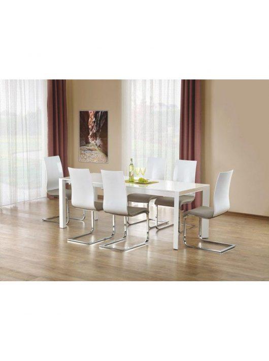 Stanford XL Bővíthető Étkezőasztal Fehér 130-250x80cm - Fa étkezőasztalok webáruház